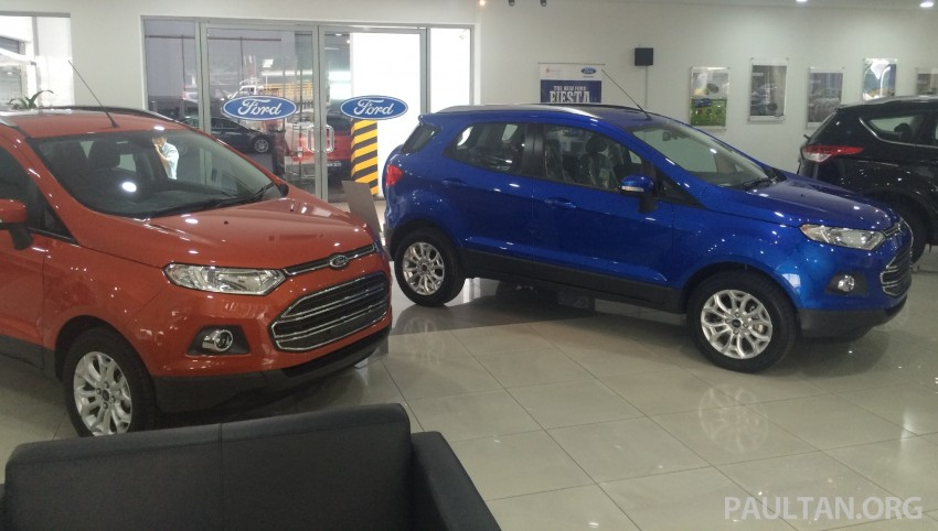 Ford EcoSport being previewed at SDAC showrooms – 1.5L Trend and Titanium variants, RM96k-RM104k Image #261224
