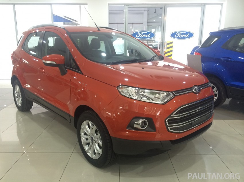 Ford EcoSport being previewed at SDAC showrooms – 1.5L Trend and Titanium variants, RM96k-RM104k Image #261225