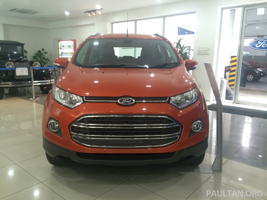 Ford EcoSport being previewed at SDAC showrooms – 1.5L Trend and Titanium variants, RM96k-RM104k Image #261226