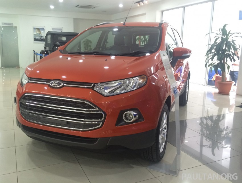 Ford EcoSport being previewed at SDAC showrooms – 1.5L Trend and Titanium variants, RM96k-RM104k Image #261227