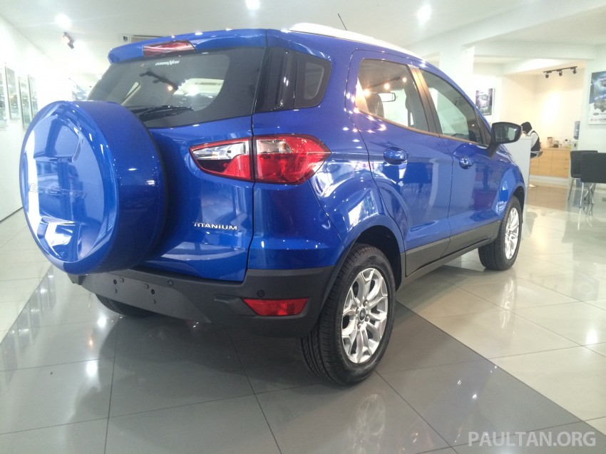 Ford EcoSport being previewed at SDAC showrooms – 1.5L Trend and Titanium variants, RM96k-RM104k Image #261228