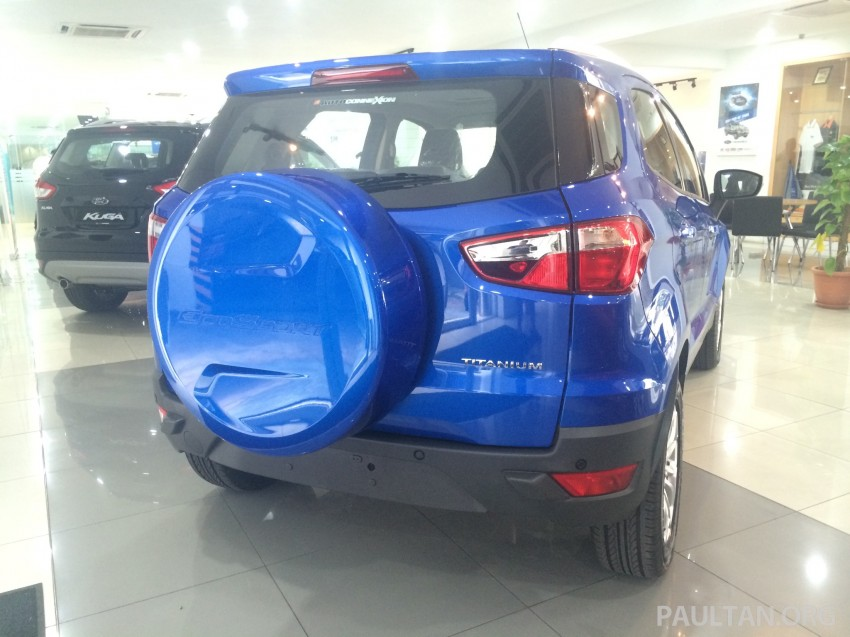 Ford EcoSport being previewed at SDAC showrooms – 1.5L Trend and Titanium variants, RM96k-RM104k Image #261231
