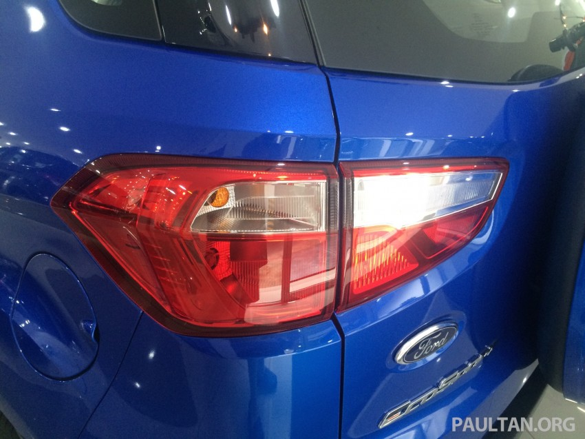 Ford EcoSport being previewed at SDAC showrooms – 1.5L Trend and Titanium variants, RM96k-RM104k Image #261232