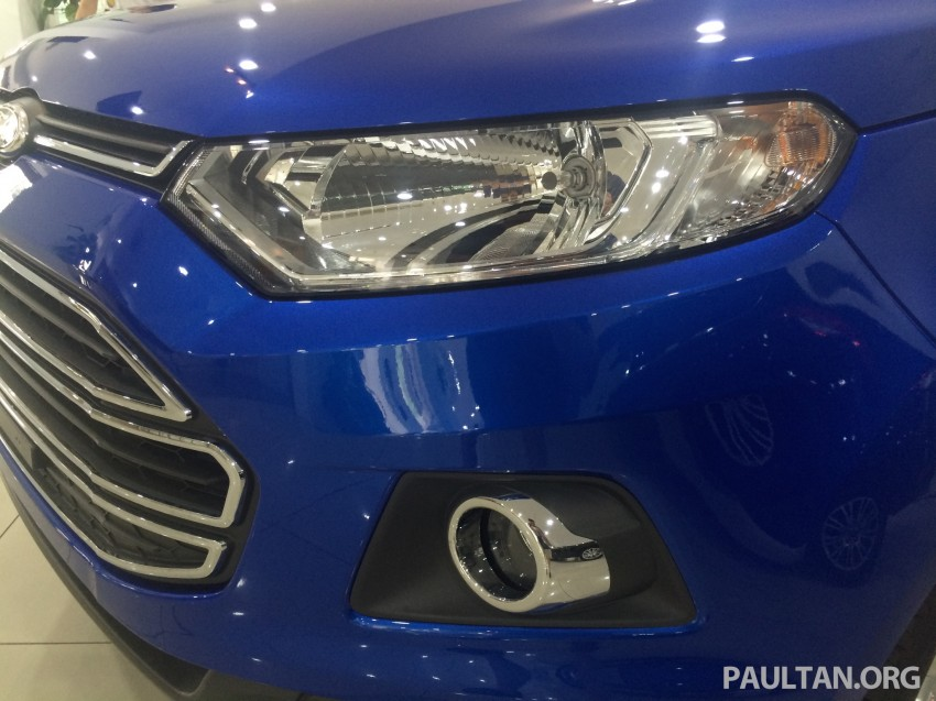 Ford EcoSport being previewed at SDAC showrooms – 1.5L Trend and Titanium variants, RM96k-RM104k Image #261233