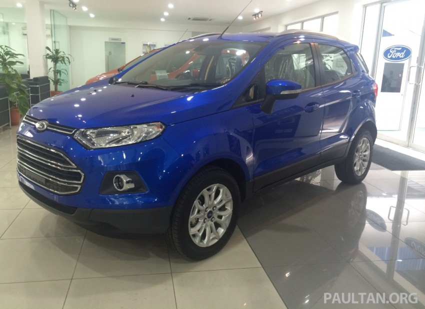 Ford EcoSport being previewed at SDAC showrooms – 1.5L Trend and Titanium variants, RM96k-RM104k Image #261235
