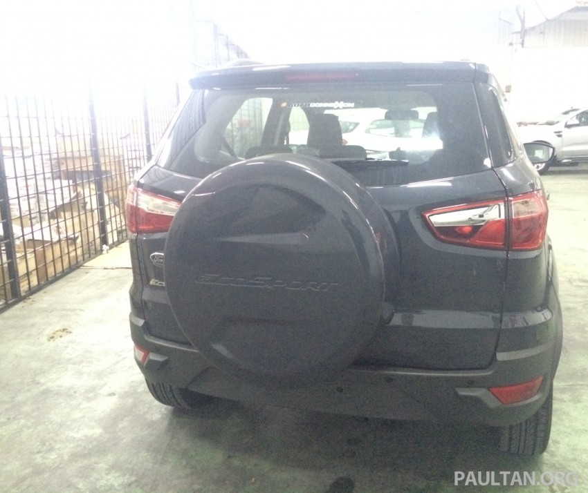 Ford EcoSport being previewed at SDAC showrooms – 1.5L Trend and Titanium variants, RM96k-RM104k Image #261175