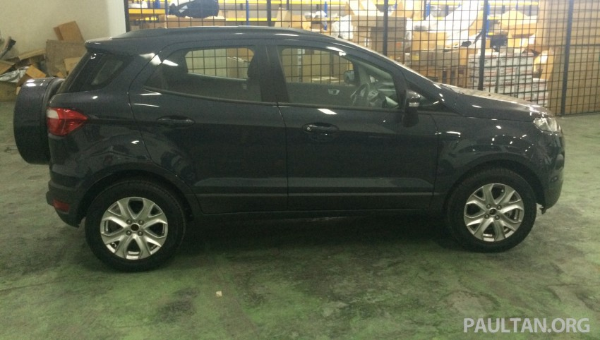 Ford EcoSport being previewed at SDAC showrooms – 1.5L Trend and Titanium variants, RM96k-RM104k Image #261177