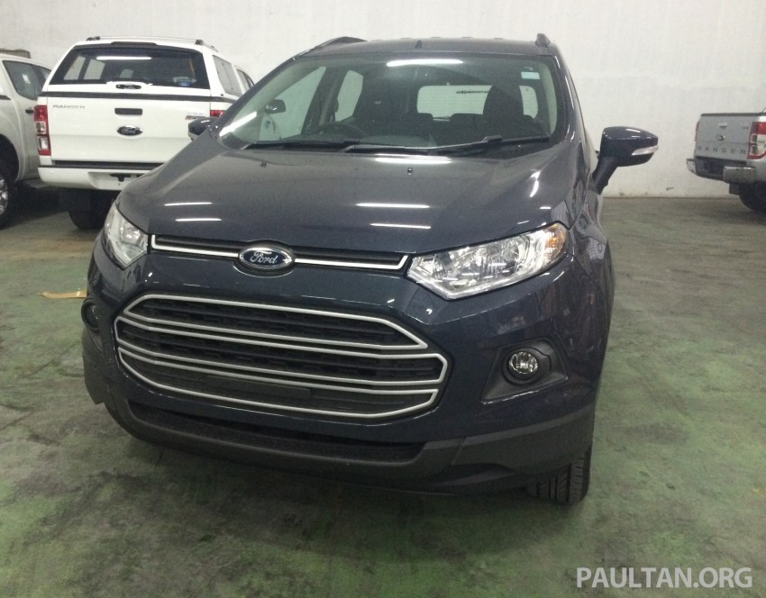Ford EcoSport being previewed at SDAC showrooms – 1.5L Trend and Titanium variants, RM96k-RM104k Image #261179