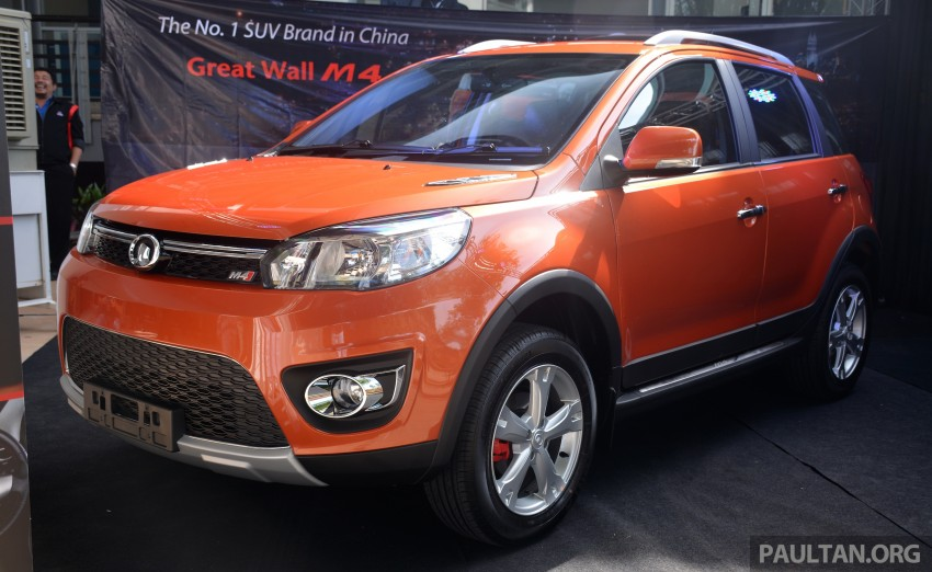 Great Wall M4 SUV – specs revealed, RM45k-RM59k Image #259612
