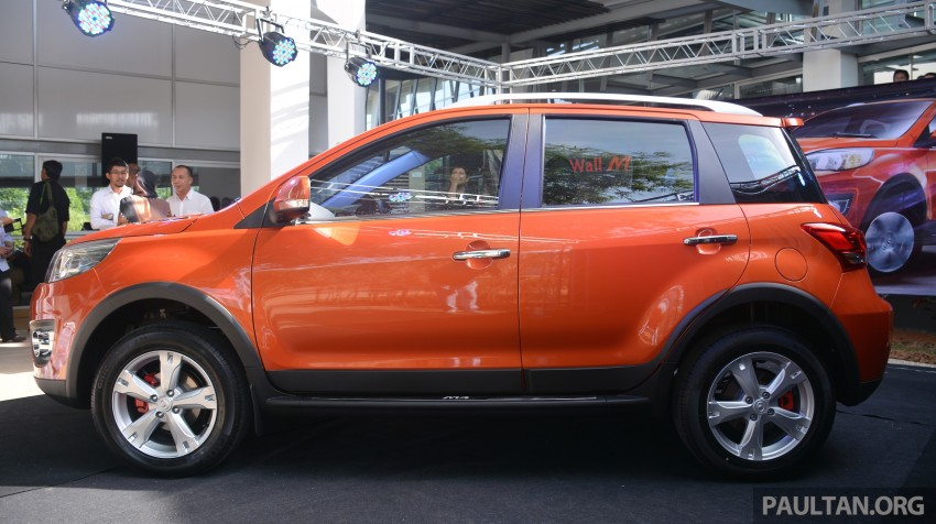 Great Wall M4 SUV – specs revealed, RM45k-RM59k Image #259613