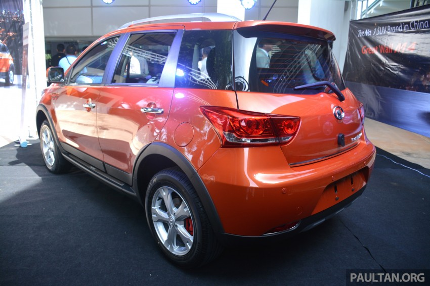 Great Wall M4 SUV – specs revealed, RM45k-RM59k Image #259614