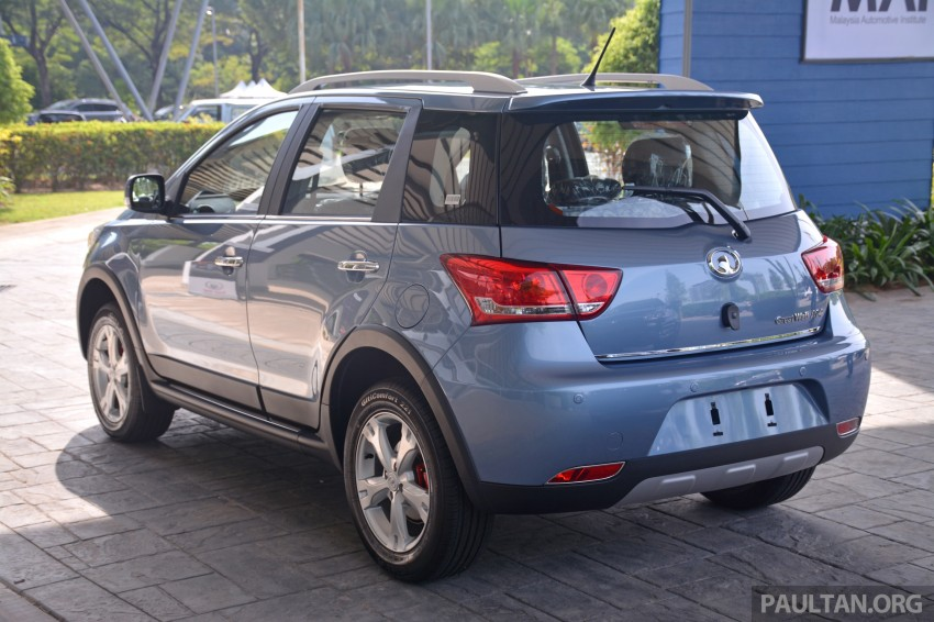Great Wall M4 SUV – specs revealed, RM45k-RM59k Image #259615