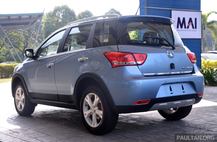 Great Wall M4 SUV – specs revealed, RM45k-RM59k Image #259616