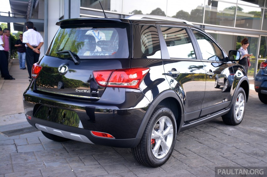 Great Wall M4 SUV – specs revealed, RM45k-RM59k Image #259624