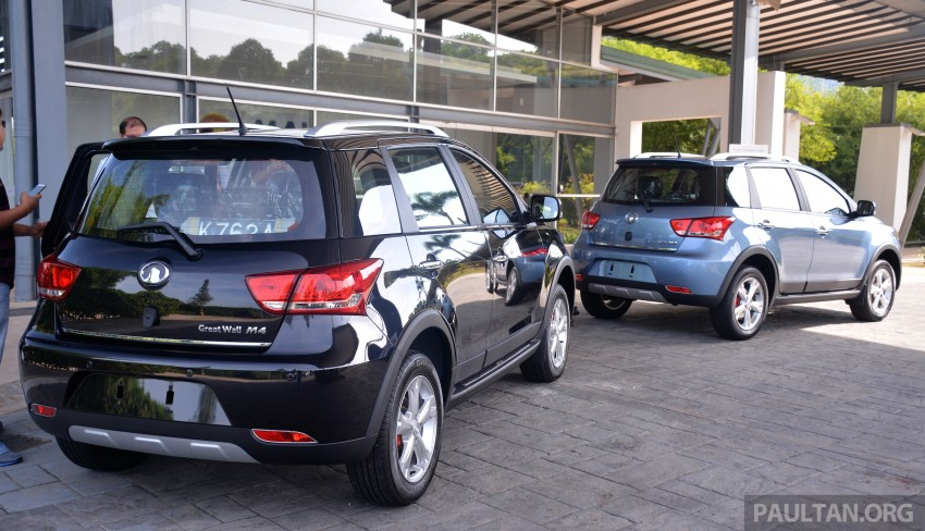 Great Wall M4 SUV – specs revealed, RM45k-RM59k Image #259625