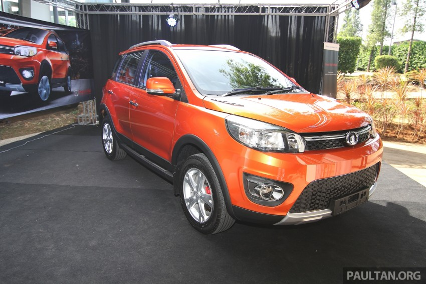 Great Wall M4 SUV – specs revealed, RM45k-RM59k Image #259778