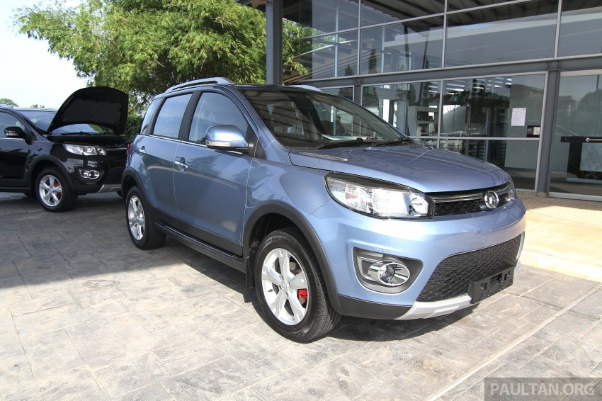 Great Wall M4 SUV – specs revealed, RM45k-RM59k Image #259793