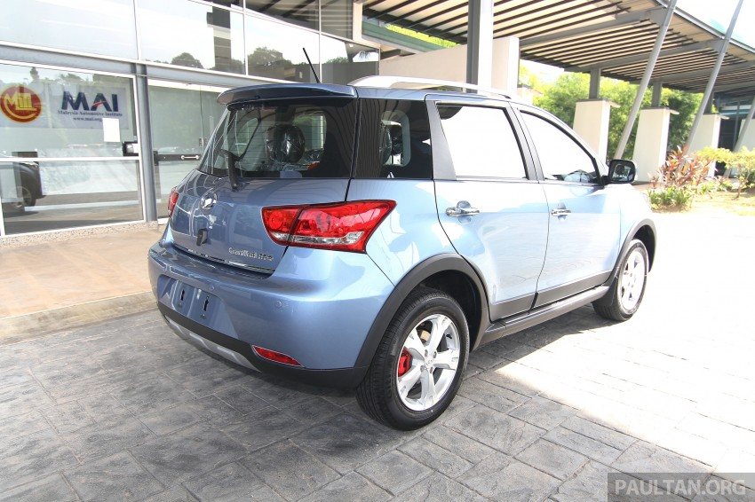 Great Wall M4 SUV – specs revealed, RM45k-RM59k Image #259795
