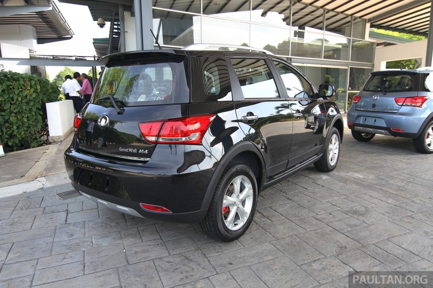 Great Wall M4 SUV – specs revealed, RM45k-RM59k Image #259798