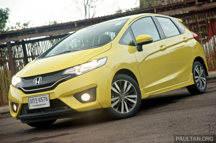 DRIVEN: 2014 Honda Jazz – a quick preview in Hua Hin Image #256335
