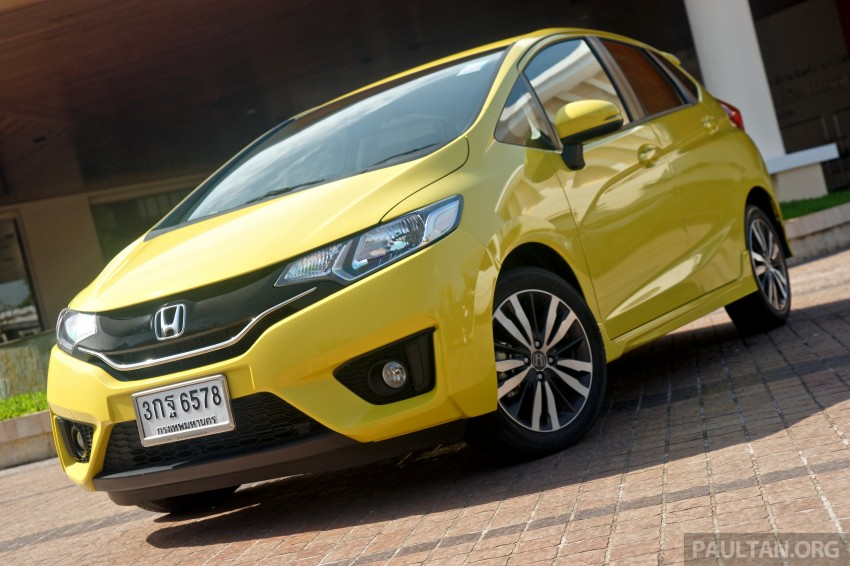 DRIVEN: 2014 Honda Jazz – a quick preview in Hua Hin Image #256337