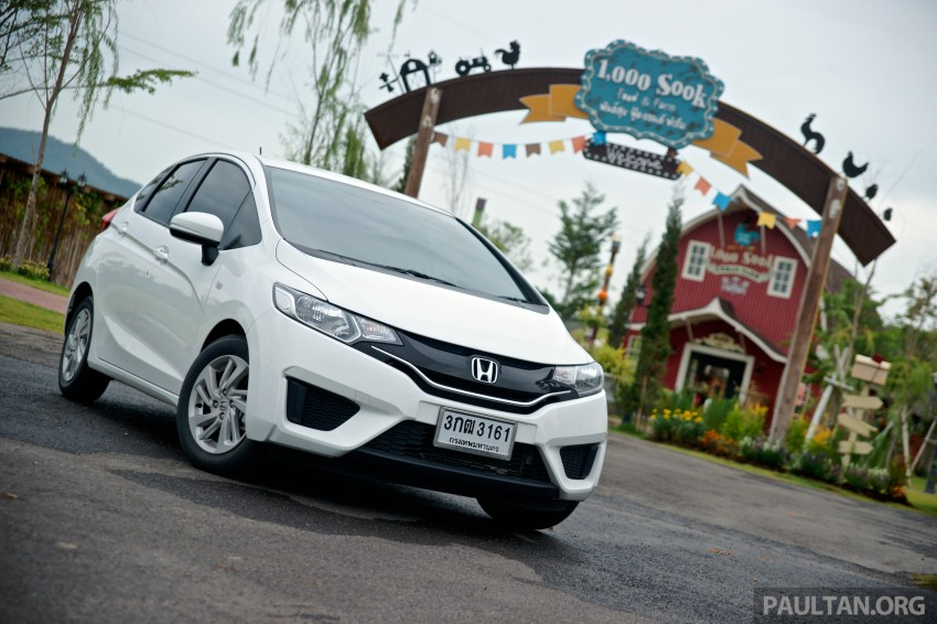 DRIVEN: 2014 Honda Jazz – a quick preview in Hua Hin Image #256326
