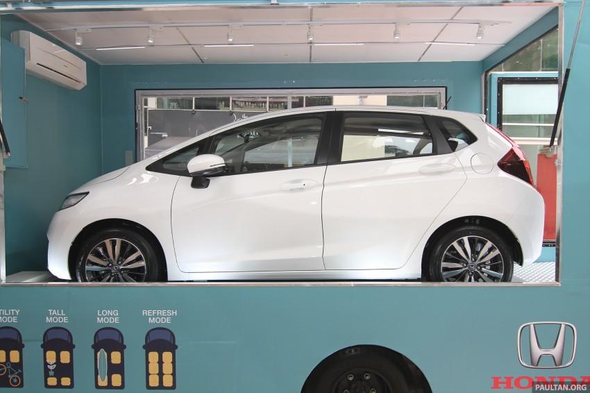 GALLERY: 2014 Honda Jazz previewed at roadshow Image #256303