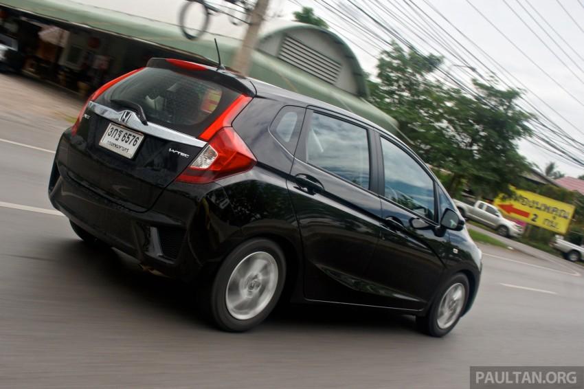 DRIVEN: 2014 Honda Jazz – a quick preview in Hua Hin Image #256347