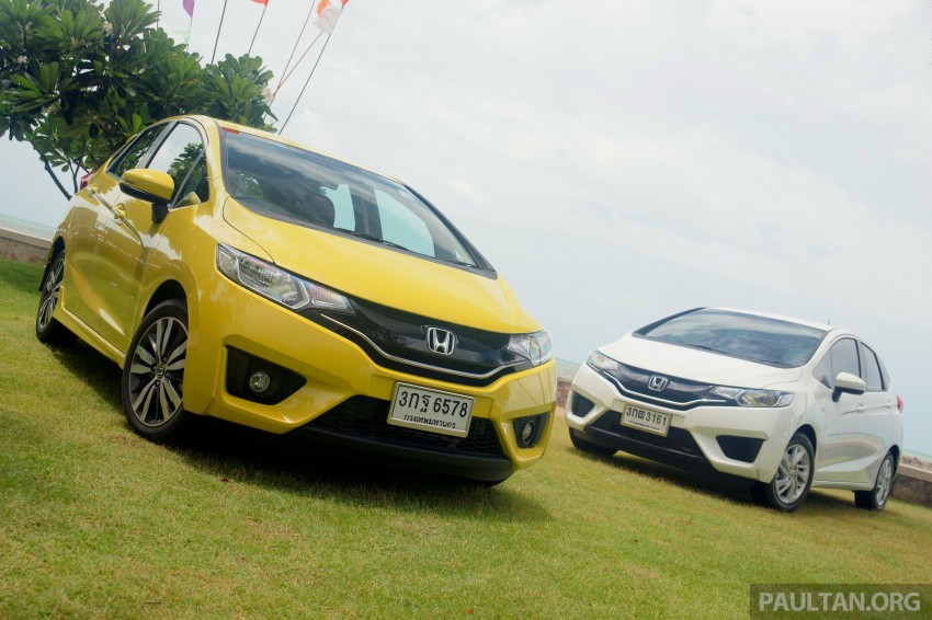 DRIVEN: 2014 Honda Jazz – a quick preview in Hua Hin Image #256393