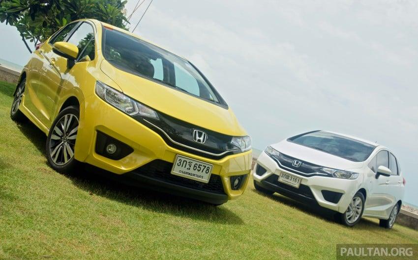 DRIVEN: 2014 Honda Jazz – a quick preview in Hua Hin Image #256438