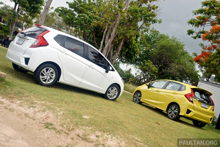 DRIVEN: 2014 Honda Jazz – a quick preview in Hua Hin Image #256353