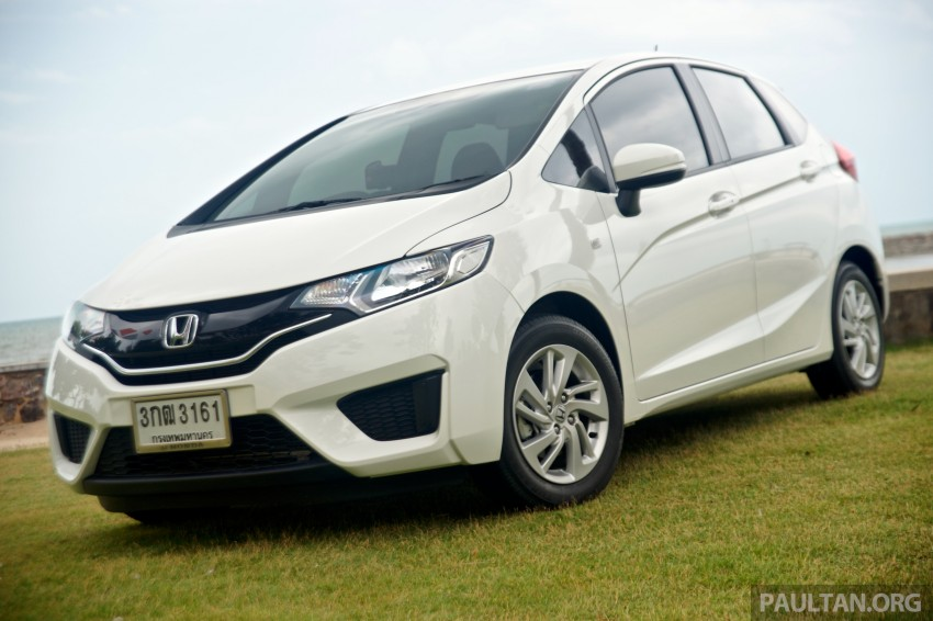 DRIVEN: 2014 Honda Jazz – a quick preview in Hua Hin Image #256355