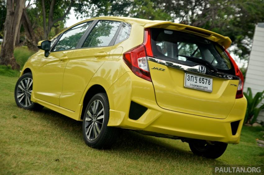 DRIVEN: 2014 Honda Jazz – a quick preview in Hua Hin Image #256356