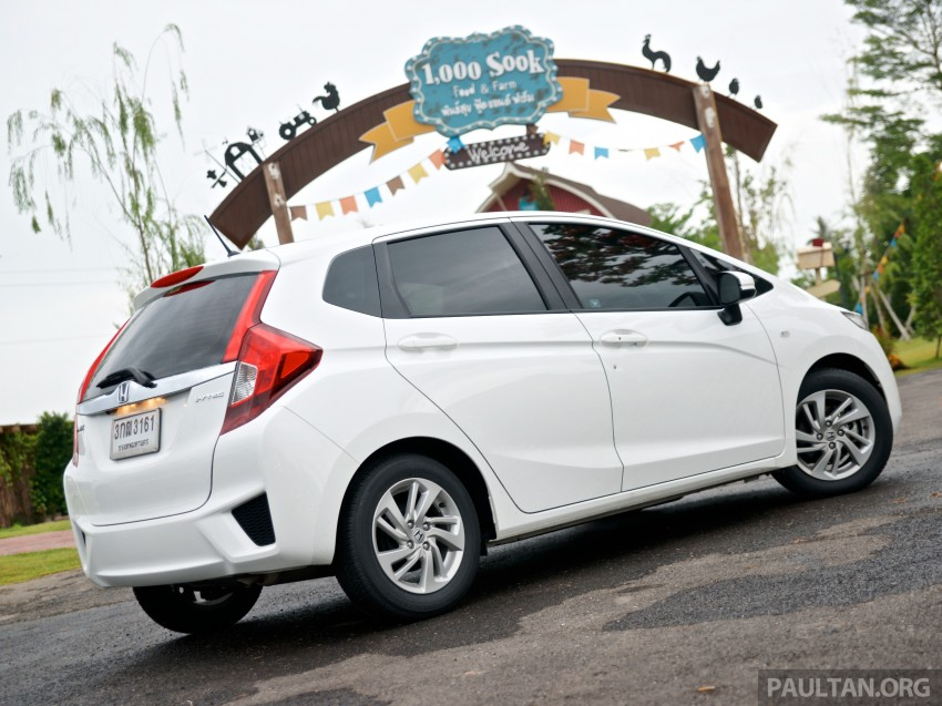 DRIVEN: 2014 Honda Jazz – a quick preview in Hua Hin Image #256329