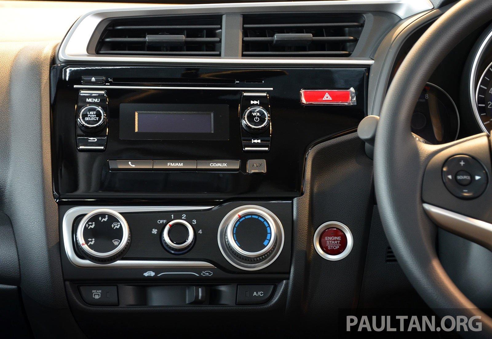 Car interior malaysia - Honda Jazz 2014 Interior Malaysia