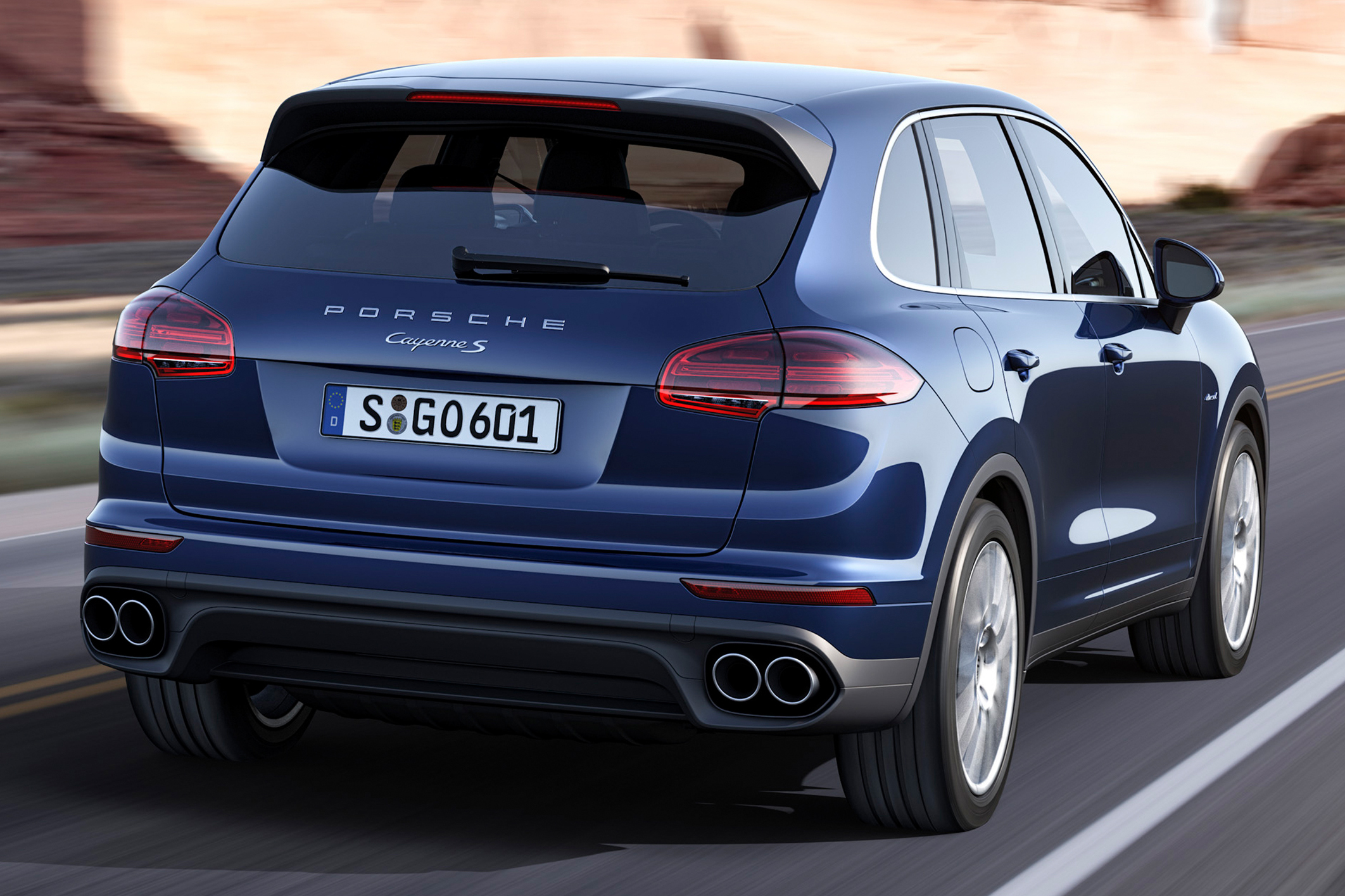 porsche cayenne facelift shown ahead of paris debut scheduled to come to malaysia q1 2015 paul. Black Bedroom Furniture Sets. Home Design Ideas
