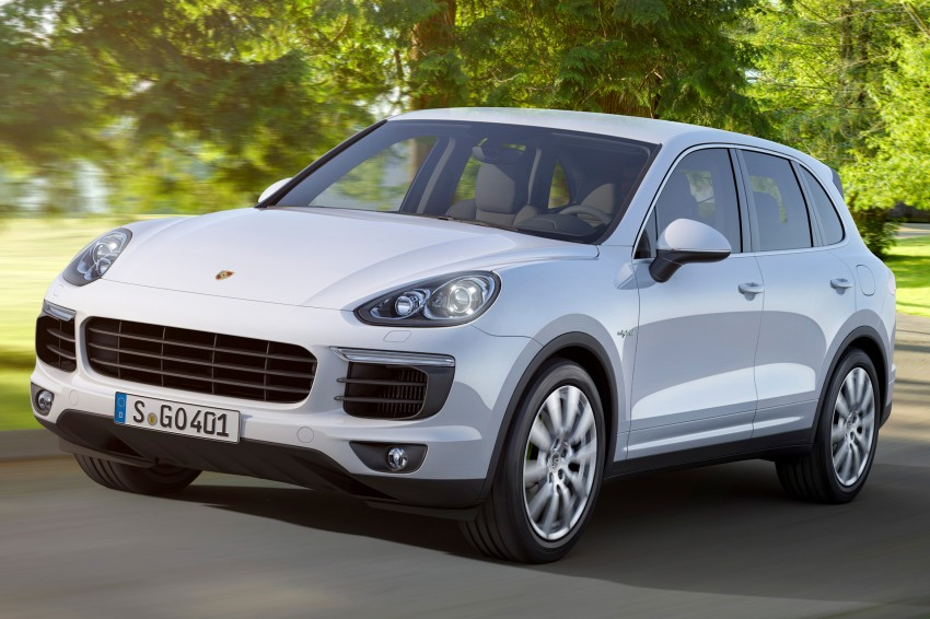 Porsche Cayenne facelift shown ahead of Paris debut, scheduled to come to Malaysia Q1 2015 Image #260425