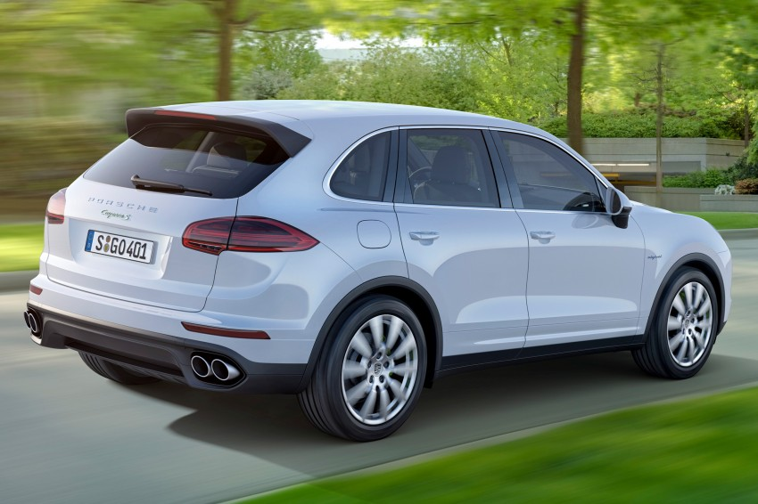 Porsche Cayenne facelift shown ahead of Paris debut, scheduled to come to Malaysia Q1 2015 Image #260424