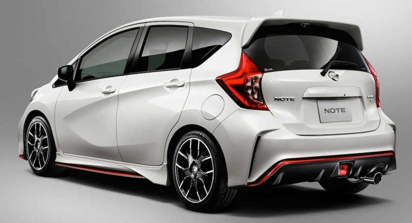 Nissan Note Nismo – first photos of the sportier hatch Image #260474
