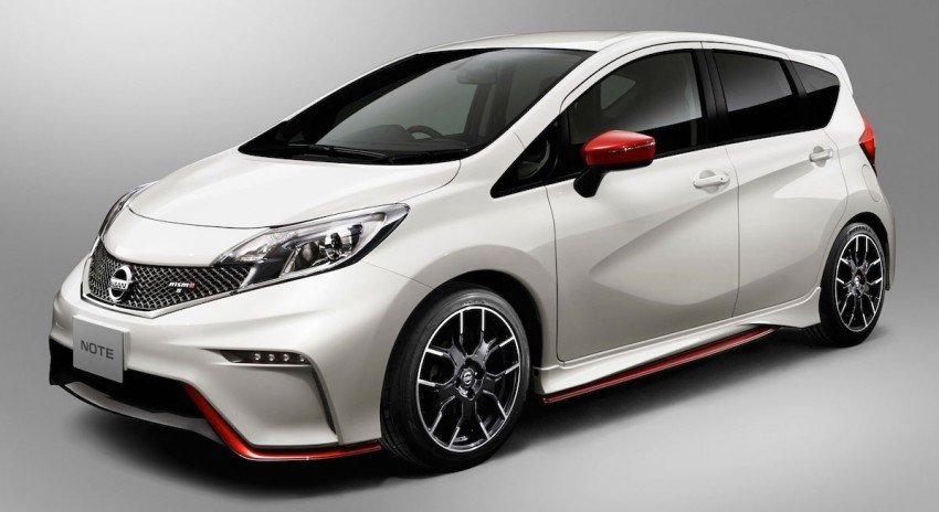 Nissan Note Nismo – first photos of the sportier hatch Image #260475