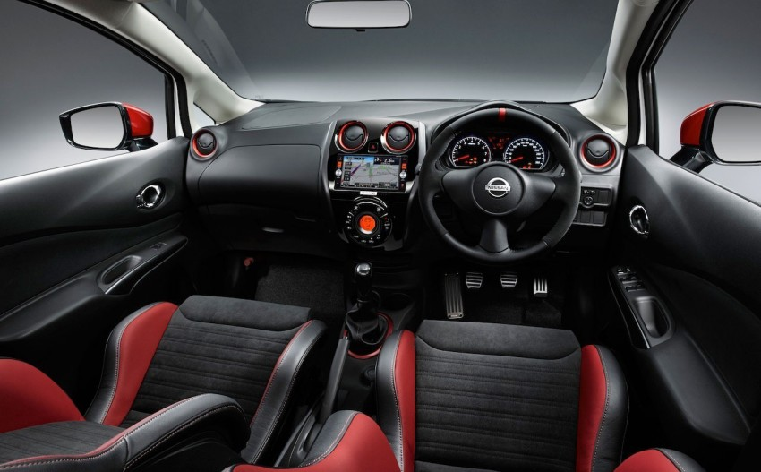 Nissan Note Nismo – first photos of the sportier hatch Image #260476