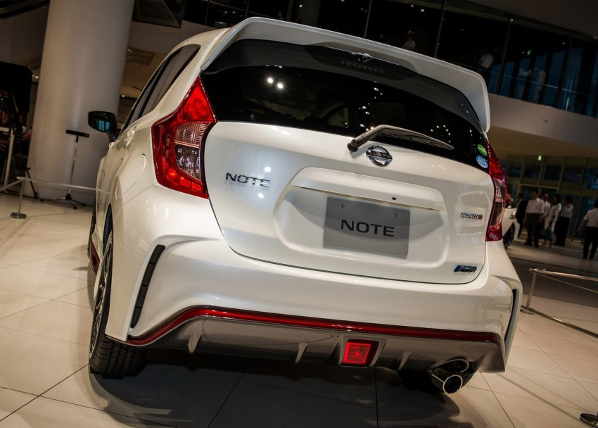 Nissan Note Nismo – first photos of the sportier hatch Image #260591