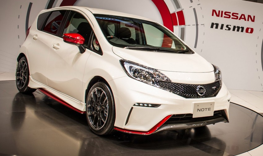 Nissan Note Nismo – first photos of the sportier hatch Image #260594