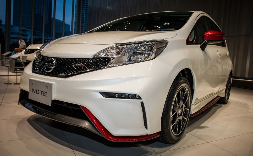 Nissan Note Nismo – first photos of the sportier hatch Image #260595