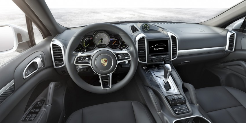 Porsche Cayenne facelift shown ahead of Paris debut, scheduled to come to Malaysia Q1 2015 Image #260431