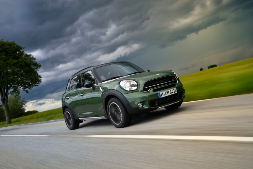 GALLERY: MINI Countryman, Paceman facelift detailed Image #258239