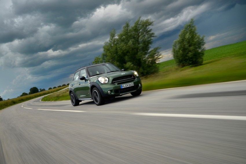 GALLERY: MINI Countryman, Paceman facelift detailed Image #258229