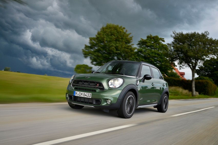 GALLERY: MINI Countryman, Paceman facelift detailed Image #258226