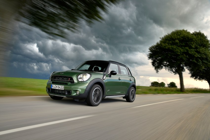 GALLERY: MINI Countryman, Paceman facelift detailed Image #258287
