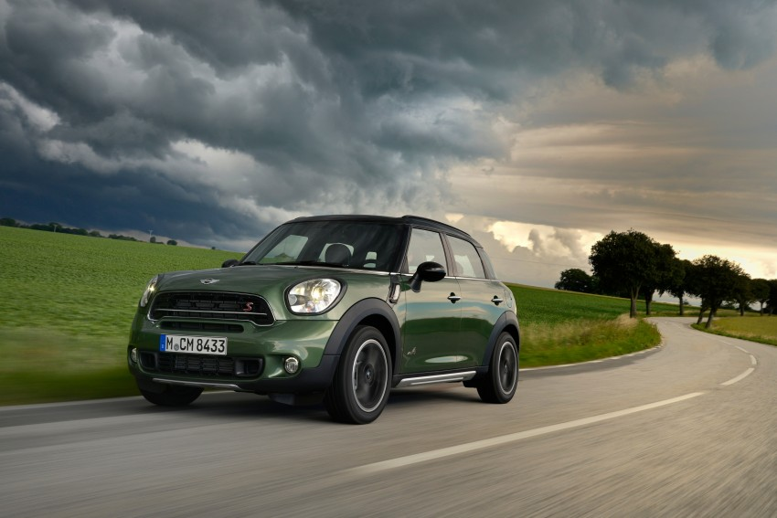 GALLERY: MINI Countryman, Paceman facelift detailed Image #258244